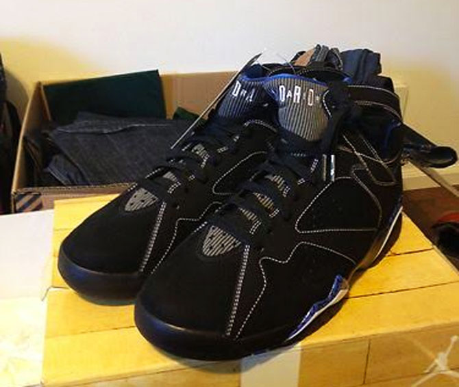Air Jordan 7 Black DMP Sample (2008)