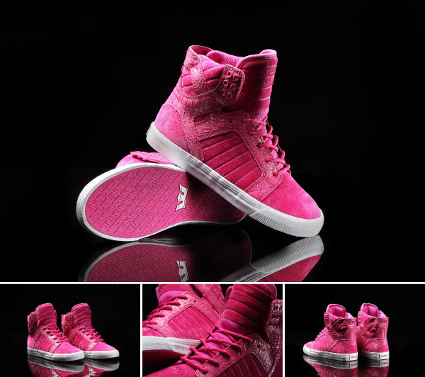 Supra Pink Party Skytop for Breast Cancer Awareness