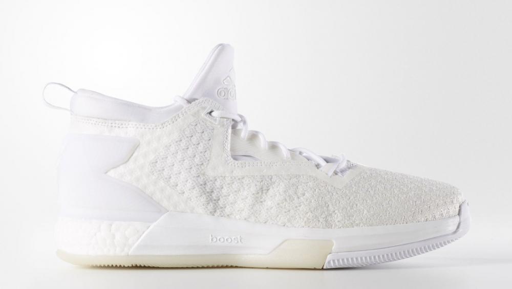 low priced 73979 30900 adidas D Lillard 2 Triple White Release Date 211. Price 150