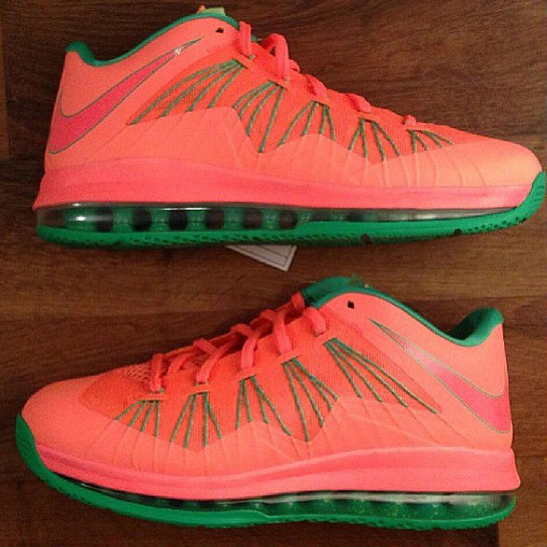 Nike LeBron X Low Watermelon Sample