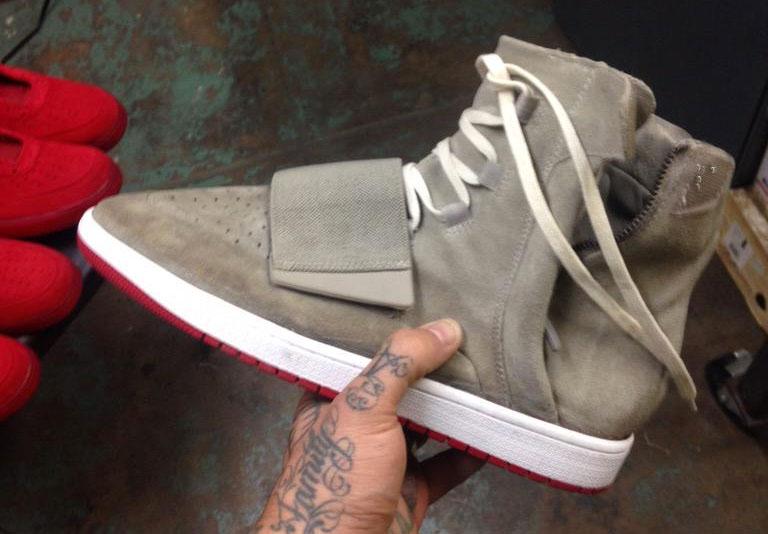 Air Jordan 3 Sole Yeezy Swap