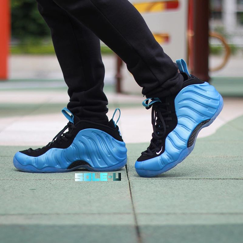 Nike Air Foamposite One University Blue On-Foot 314996-402 (1)