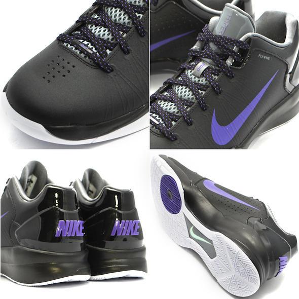 30e73c20538d Nike Hyperdunk 2010 Low Black Varsity Purple Cool Grey 436312-001
