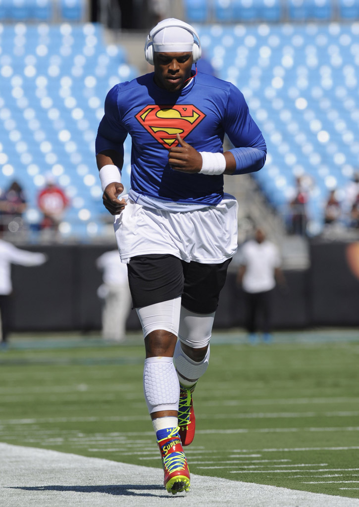 SoleWatch: Cam Newton Debuts Superman