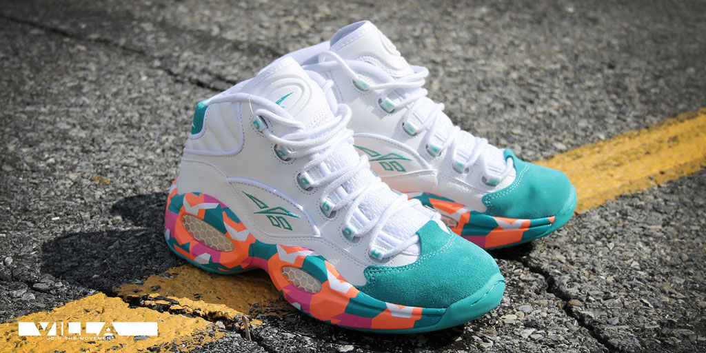 Reebok Question Making White Noise This