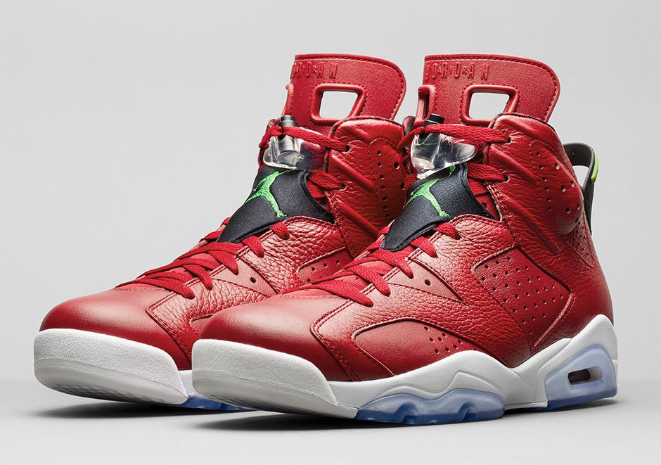 the best attitude 9d751 c2a2b Air Jordan VI 6 Spizike History of Air Jordan Red 694091-625 (1)