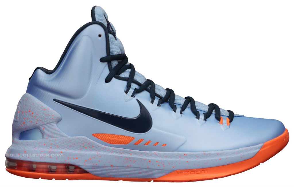 Nike KD V Ice Blue Squadron Blue Total Orange 554988-400 Release Date (1)
