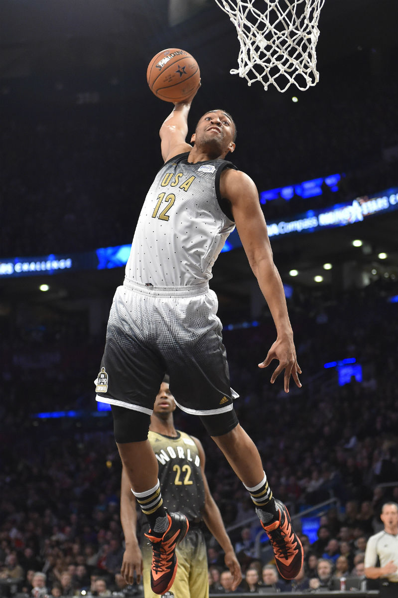 Jabari Parker Wearing the Jordan CP3.IX
