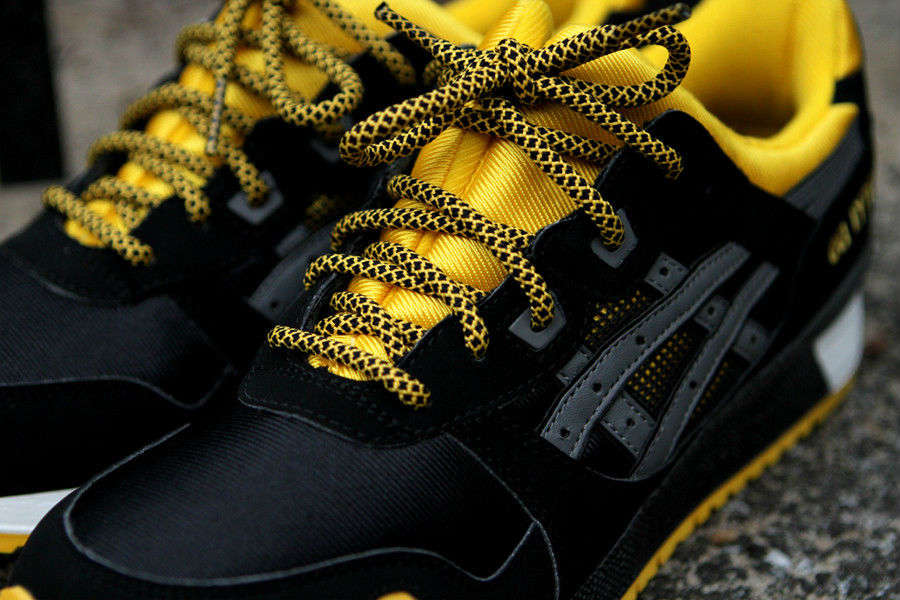 11ef1d347392 ASICS GEL-Lyte III Black Yellow KithStrike (3)