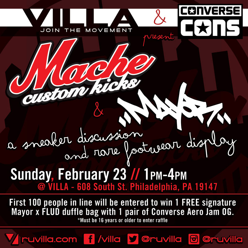 Mache & Mayor Chop It Up at VILLA Sunday