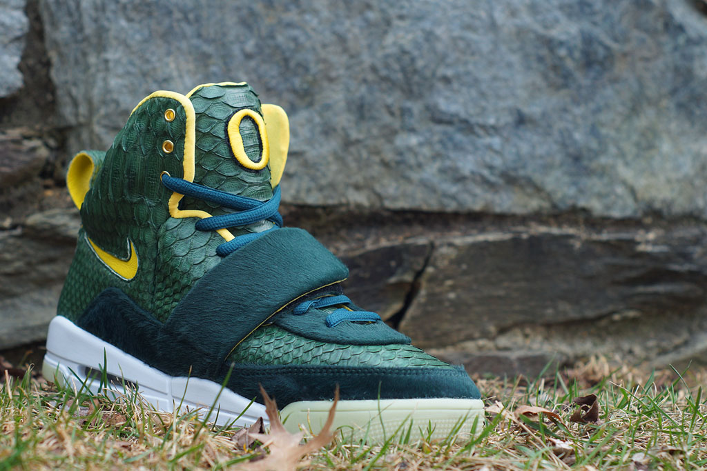 Nike Air Yeezy 'Oregon' by JBF Customs