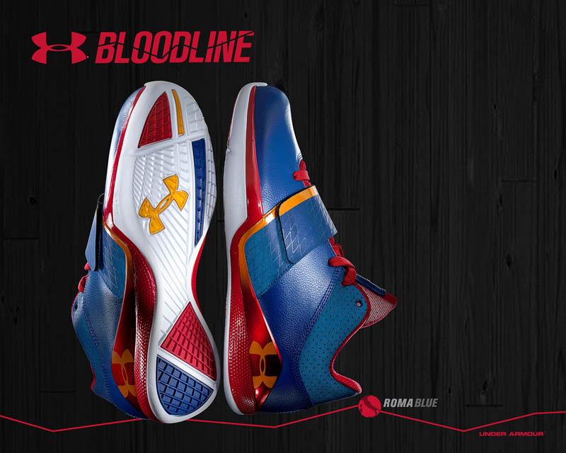 Under Armour Micro G Bloodline Roma Blue