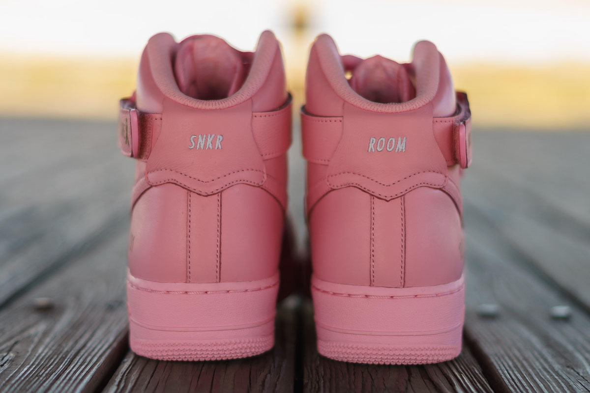 Sneaker Room x Nike Air Force 1 High Pink BCA (11)