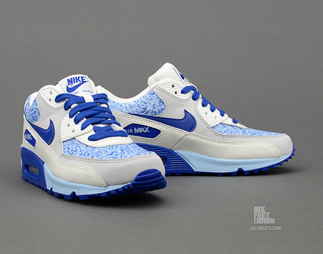 quality design 20ed7 1655a Look for the refreshing  Ice Blue  WMNS Air Max 90 soon at select Nike  Sportswear retailers, or pick them up now online from Caliroots.