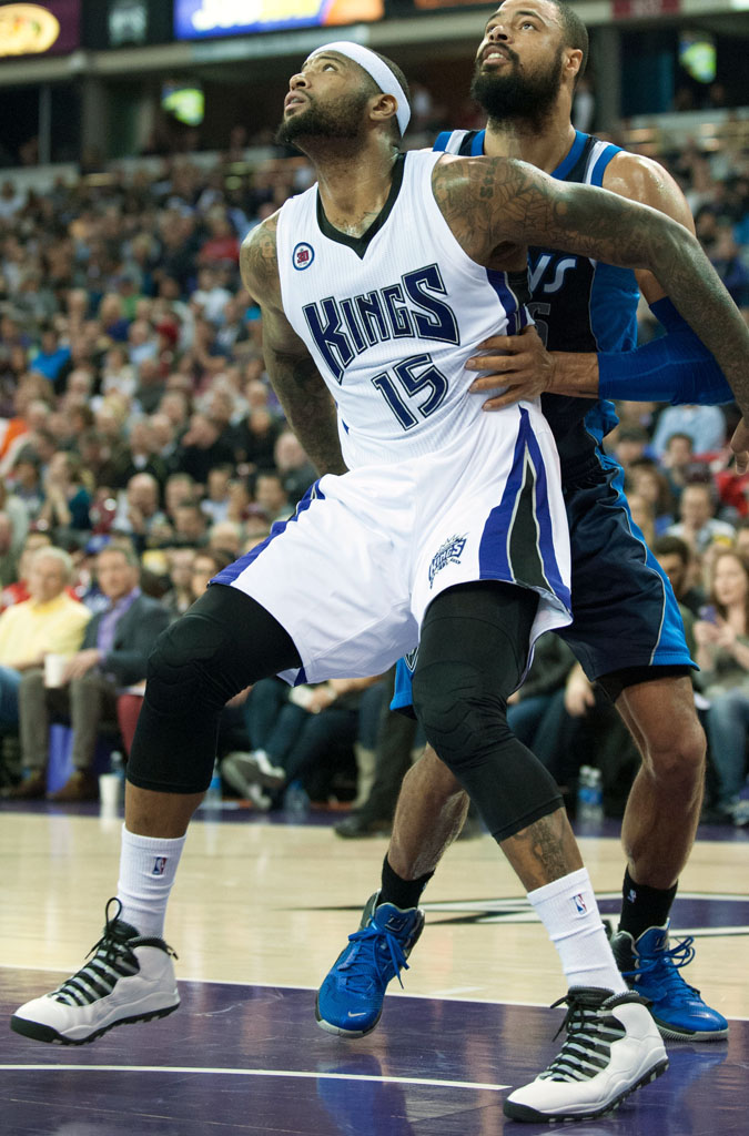 competitive price 4b812 3250f SoleWatch: DeMarcus Cousins Wears the 'Steel' Air Jordan 10 ...