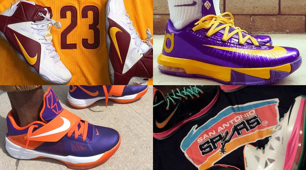 The 50 Best NBA-Inspired NIKEID Designs On Instagram