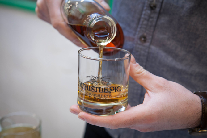 New Balance Barbershop Pack Event Whistlepig Whiskey