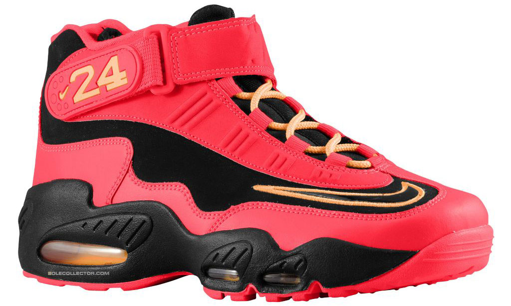 check out 027a5 7d4ab Nike Air Griffey Max 1 Black Crimson Release Date 354912-010 (1)