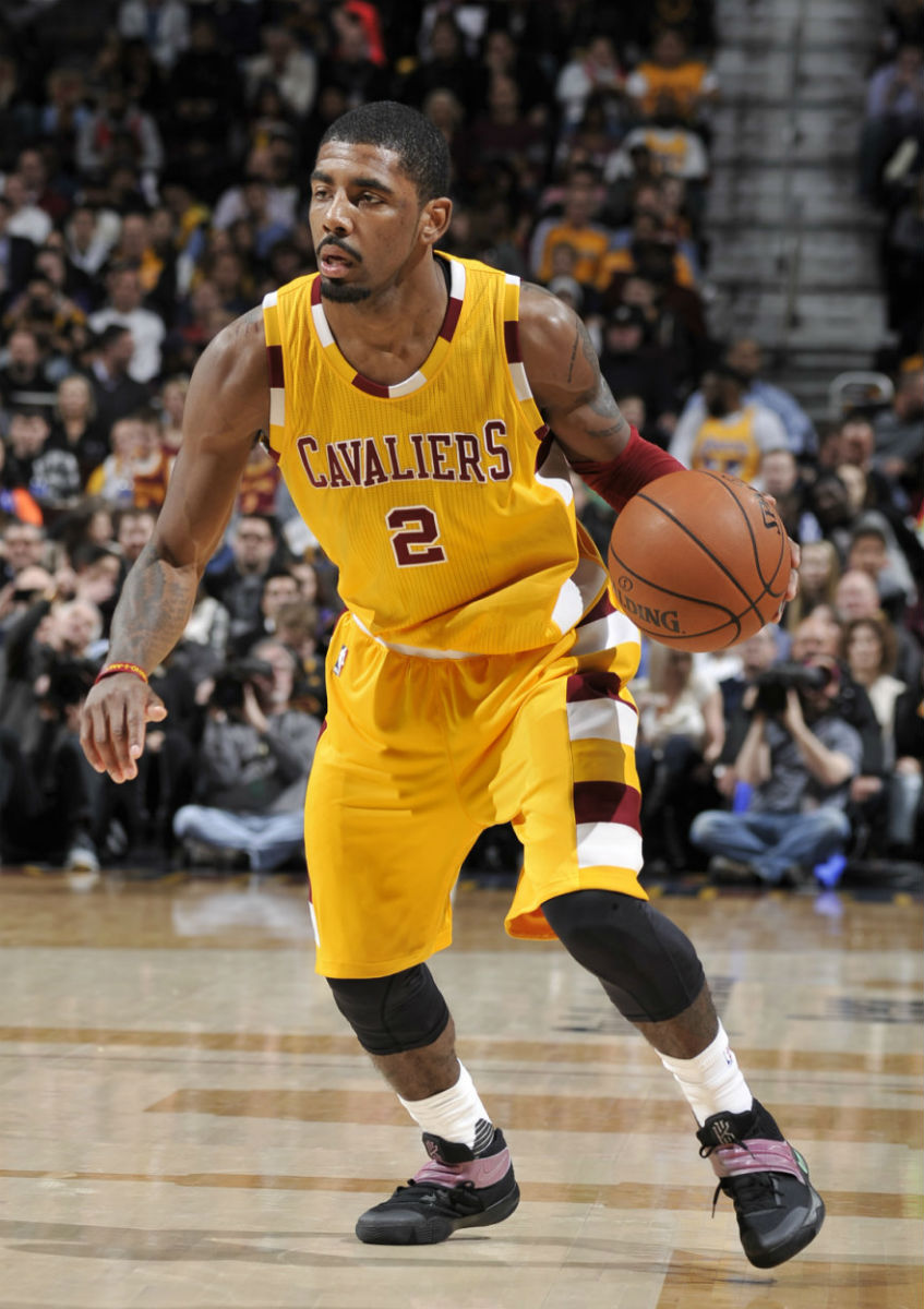 ... Kyrie Irving Scores a Season High in the 'Razzle Dazzle' Nike Kyr...