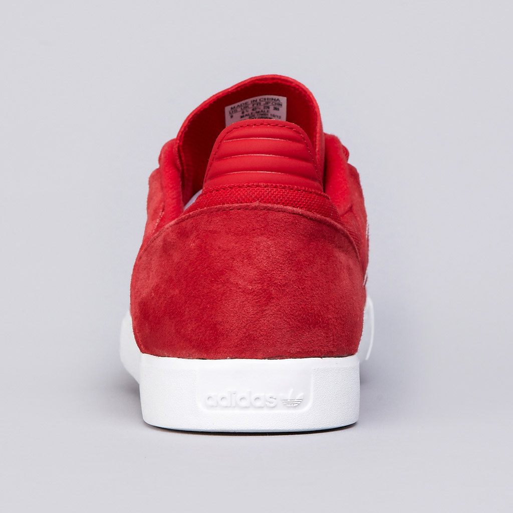 The Busenitz ADV in University Red   Running White is available now at  adidas Skateboarding retailers fd3fab3f2