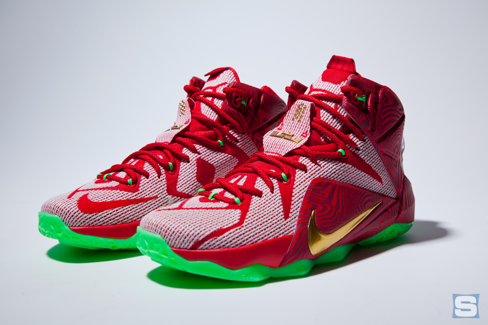 the best attitude 6395a 029c2 An In-Depth Look at the Nike LeBron 12 'Sprite Mix' Pack ...