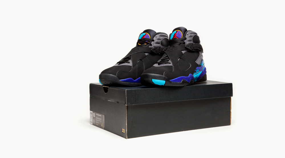 See How the \'Aqua\' Air Jordan 8 Compares to the Original | Sole