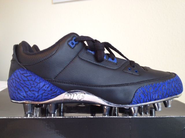 Marvin Harrison' Air Jordan 3 III Low Colts PE