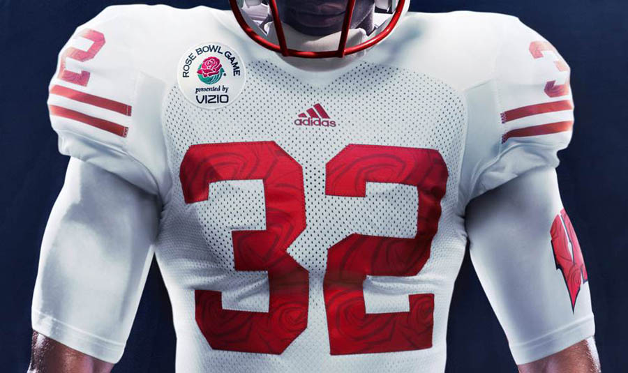 adidas Wisconsin Rose Bowl Uniforms Unveiled (1)