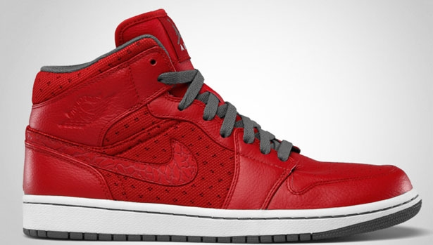 Air Jordan I Phat Mid Varsity Red/Cool Grey-White