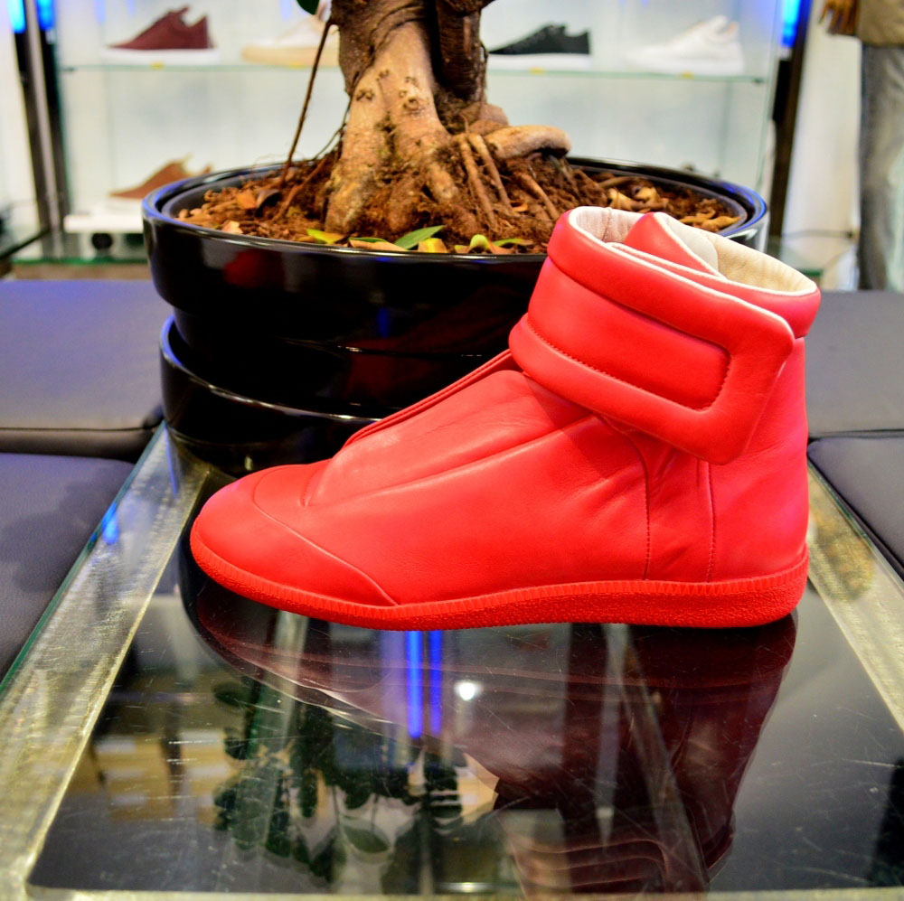 Maison Martin Margiela Went  Red October  With Its Future Sneaker ... 716a0a633