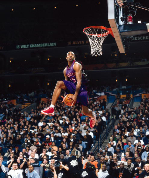 Vince Carter wearing the And1 Tai Chi