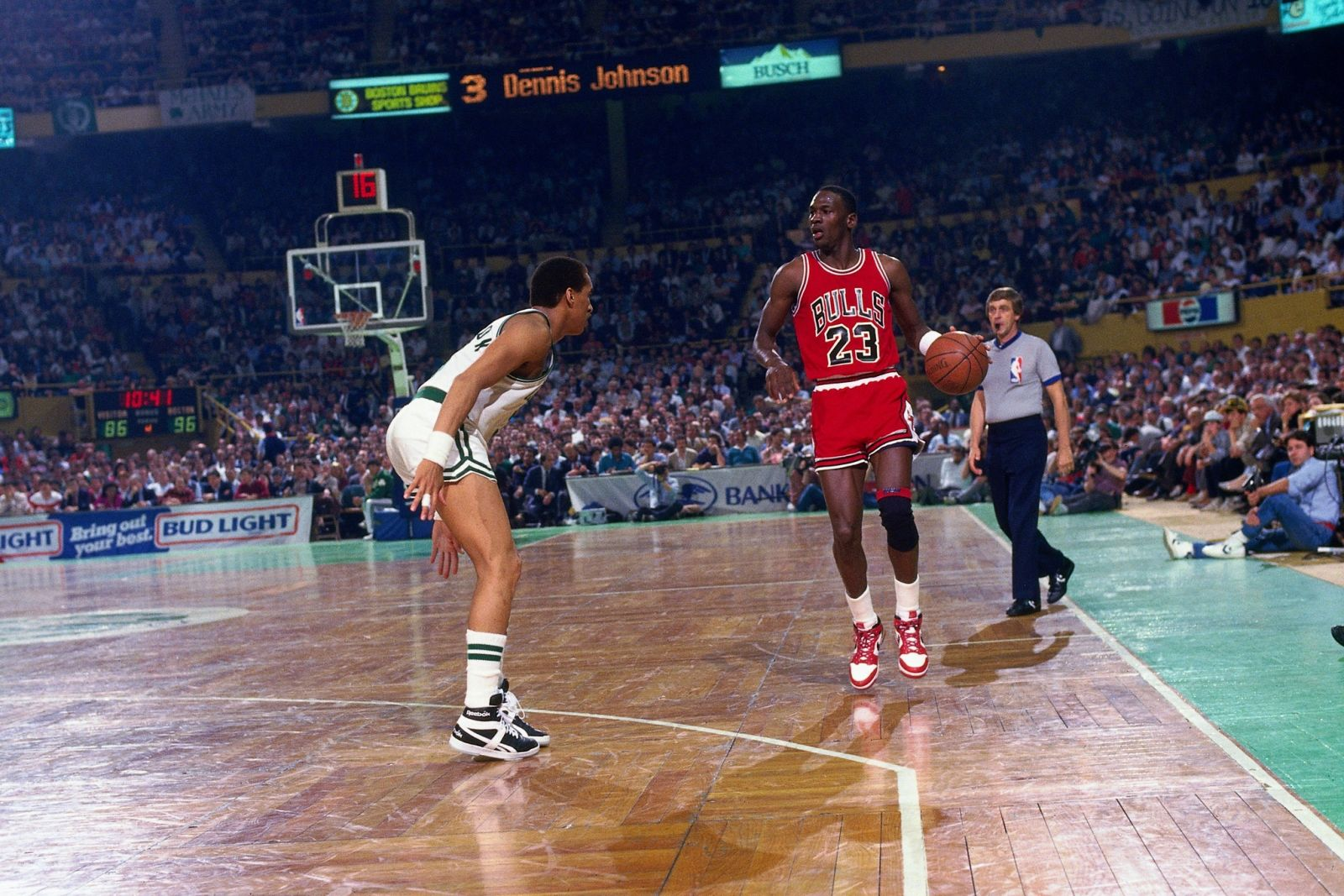 55a9b948d72a41 Moments in Sneaker History  Michael Jordan Sets NBA Playoff Record ...