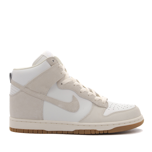 best website 6f027 d7166 The A.P.C. x Nike Dunk High 08 NRG QS in Summit White  Sail is available  now online at Livestock.