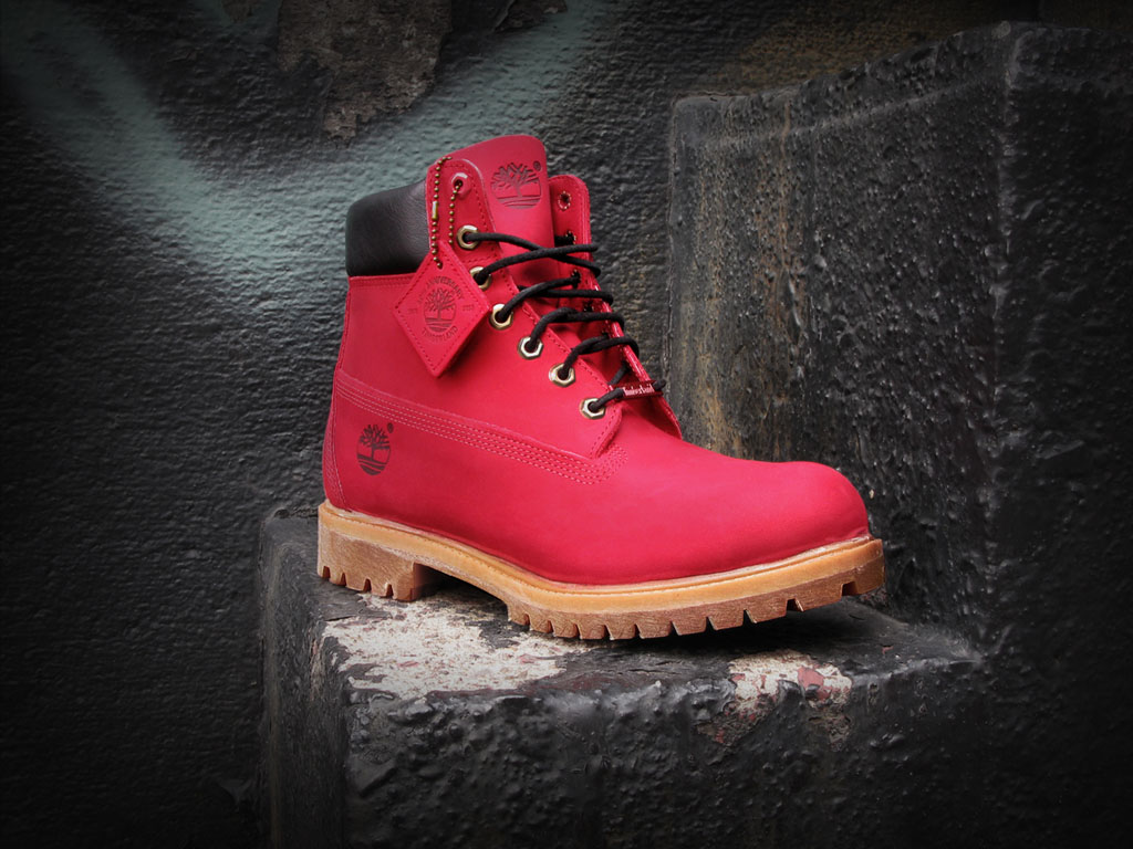 6 inch timberland boots red