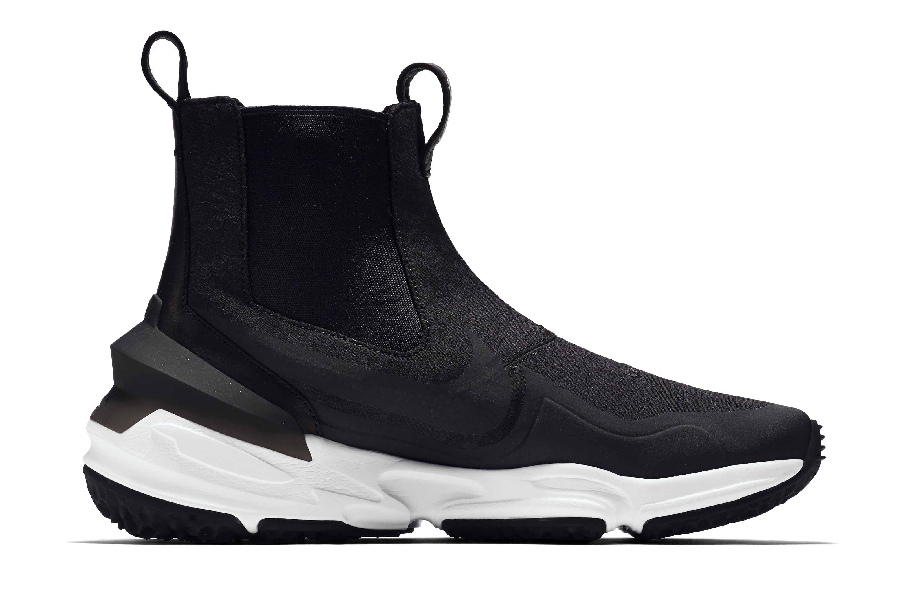 best sneakers bc697 5dc6c Image via Nike Tisci Nike Zoom Legend Chelsea Boot Profile