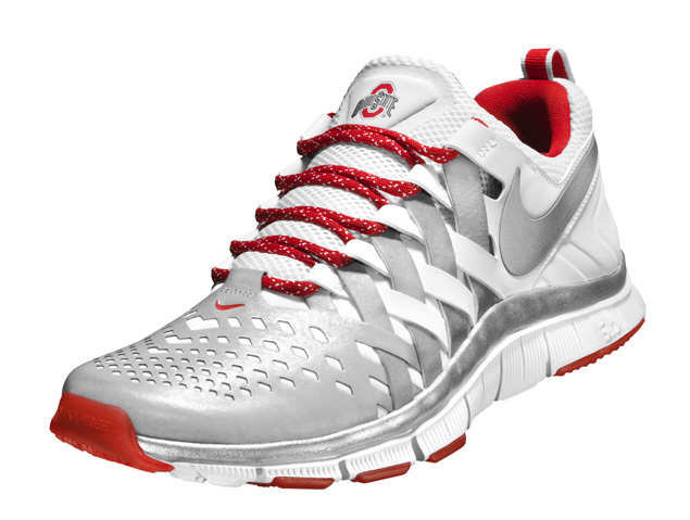 pretty nice 1420d 7c4df ... Nike Free Trainer 5.0 for THE Ohio State University ...