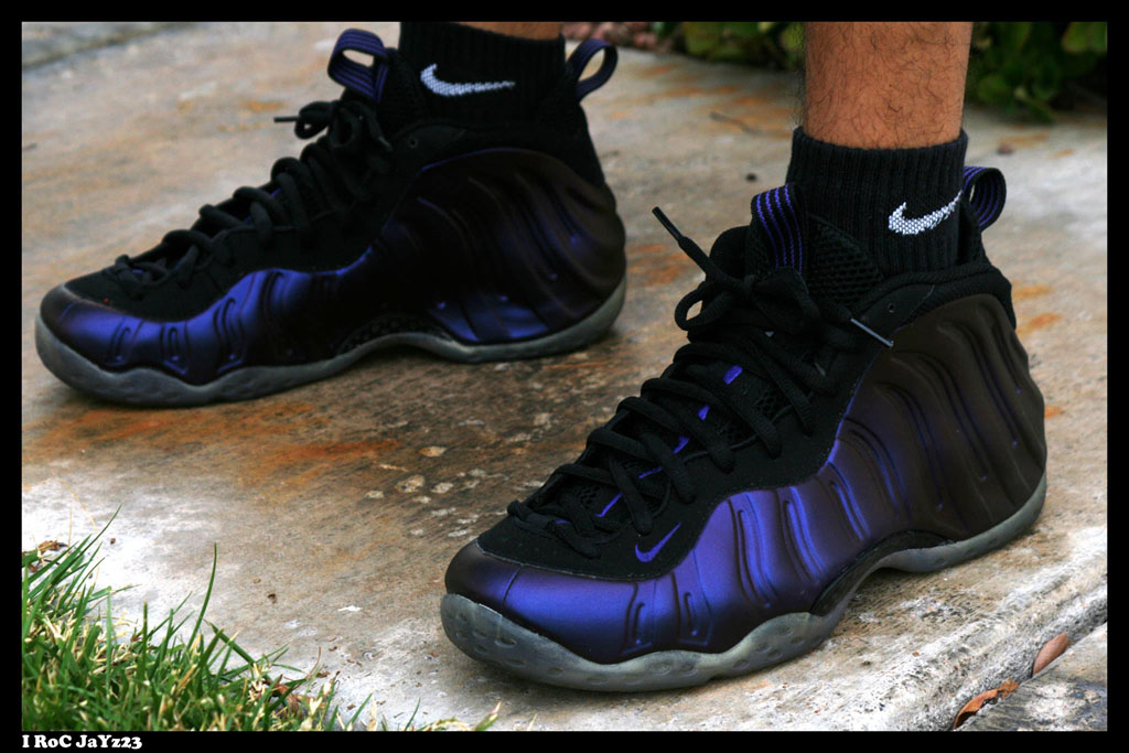 Spotlight // Forum Staff Weekly WDYWT? - 11.16.13 - Nike Air Foamposite One Eggplant by I RoC JaYz23