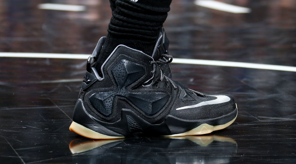 a8188e64ee43 SoleWatch  LeBron James Has His Own  Black Lion  Nike LeBron 13 ...