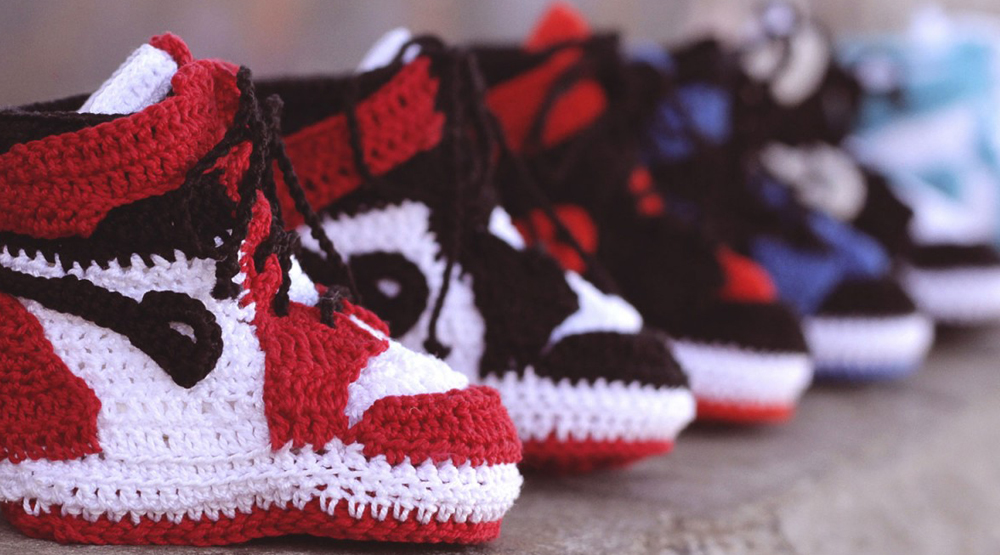 This Company Makes Knit Air Jordan 1 Knockoffs for Your Baby