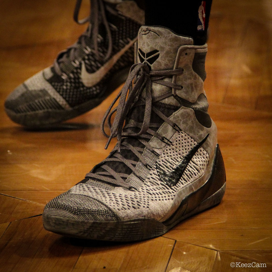 PJ Tucker wearing Nike Kobe 9 Elite Detail (1)