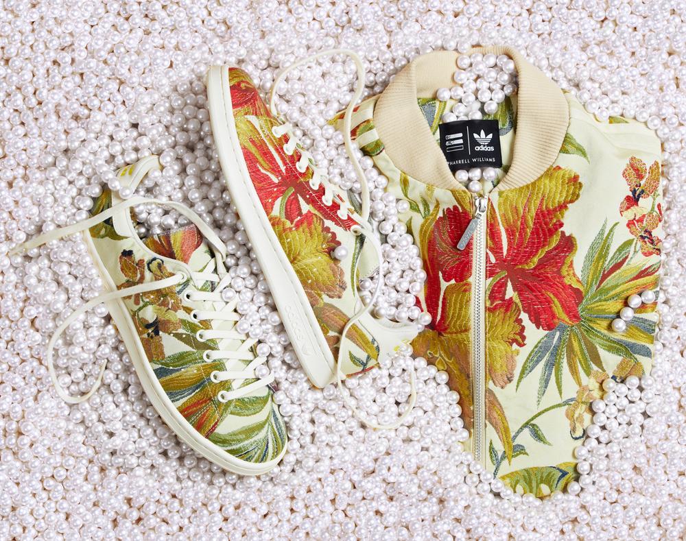 Pharrell x Adidas Jacquard Superstar LIL' Jacket Pack AB1456