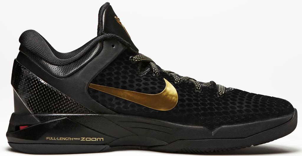 Nike Zoom Kobe 7 VII Elite Black Metallic Silver