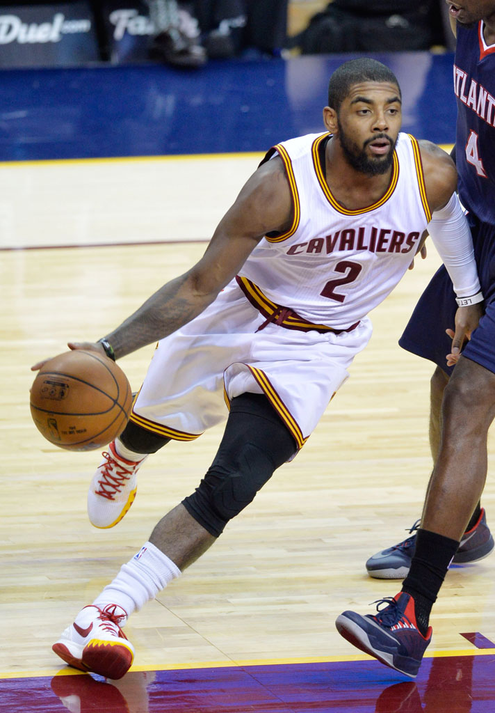 2ba6ff1a3cc3 SoleWatch  Kyrie Irving Debuts  Cavs Home  Nike Kyrie 1 PE