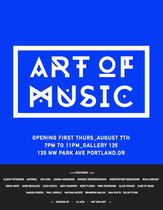 Art of Music Flier