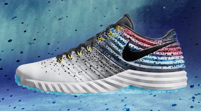 9a57699ec77a Nike's Mike Trout Sneakers Look Like an Actual Rainbow Trout | Sole ...