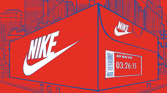 Nike's Giant Sneaker Box Pop-Up Coming to the West Coast