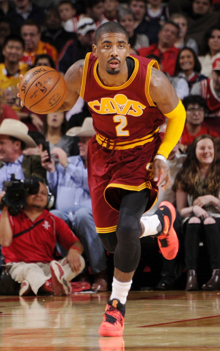 Solewatch Watch Kyrie Irving Mix Up The Rockets In The Nike