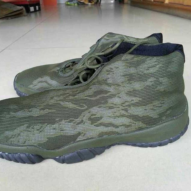 Air Jordan Future Tiger Camo Green (4)