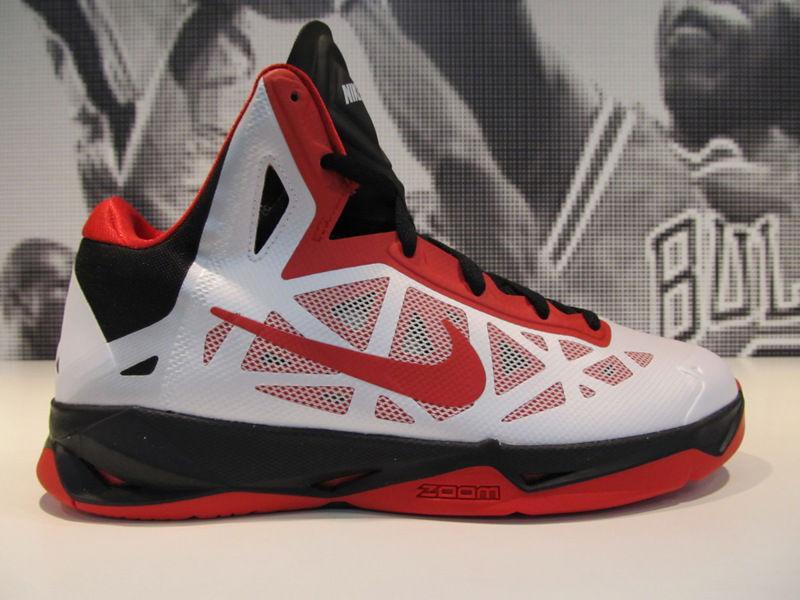 a0df19831e1a Nike Zoom Hyperchaos White Black University Red 536841-101