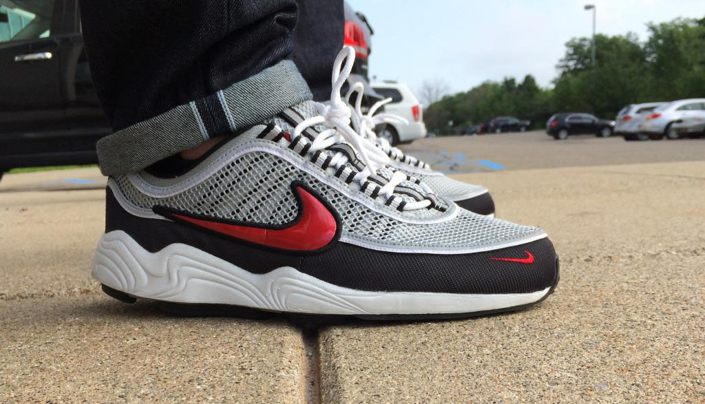 Fornastyy in the Nike Zoom Spiridon